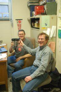 coffee and quantitative genetics with Jim and Dr. Greg Rebetzke, CSIRO Australia